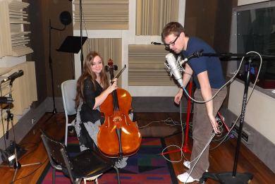 Alex Frank (cello) & Ric Parker