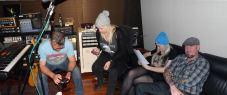 Menindee Sky - In the studio