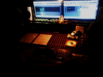 Buzzard Productions sound desk
